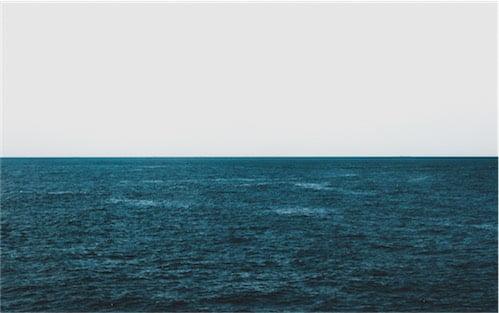 水平線の写真