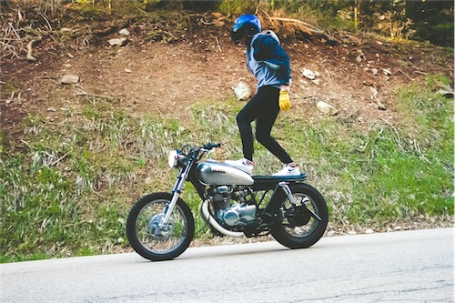 MOTORBIKE STANDING RIDE